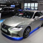 Vienna Autoshow 2015 Lexus IS 300h