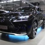 Vienna Autoshow 2015 Lexus NX 300h