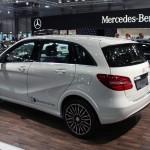 Vienna Autoshow 2015 Mercedes-Benz B-Klasse Electric Drive