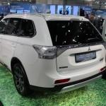 Vienna Autoshow 2015 Mitsubishi Outlander PHEV