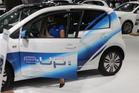 Vienna Autoshow 2015 Volkswagen e-up