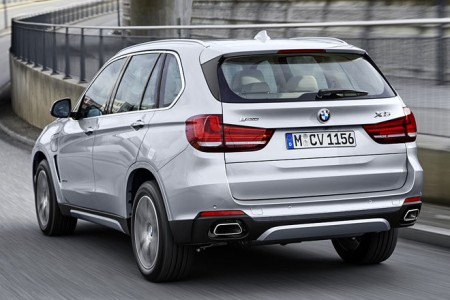 BMW X5 xDrive40e Heck