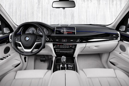 BMW X5 xDrive40e Innenraum