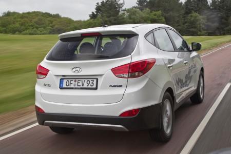 Hyundai ix35 FCEV Brennstoffzelle Wasserstoff