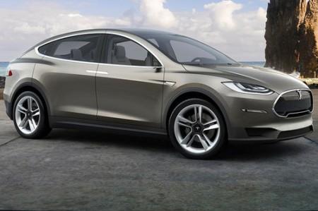 Tesla SUV Elektroauto