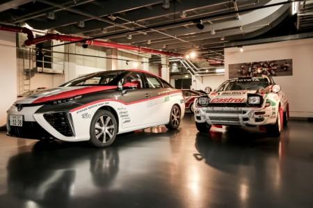 Toyota Mirai Vorausauto WRC ADAC Deutschland Rallye Brennstoffzelle