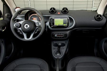 Smart ED Cabrio Innenraum