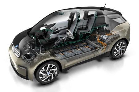 BMW i3 Zeichnung Querschnitt Bild