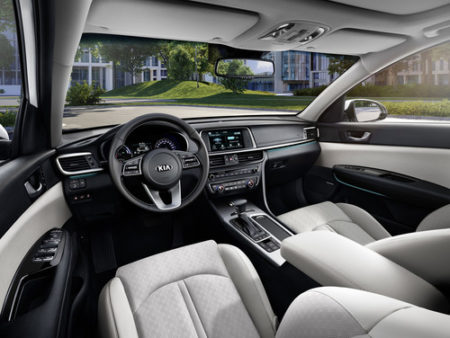 Kia Optima Sportwagon Plug-in Hybrid Innenraum